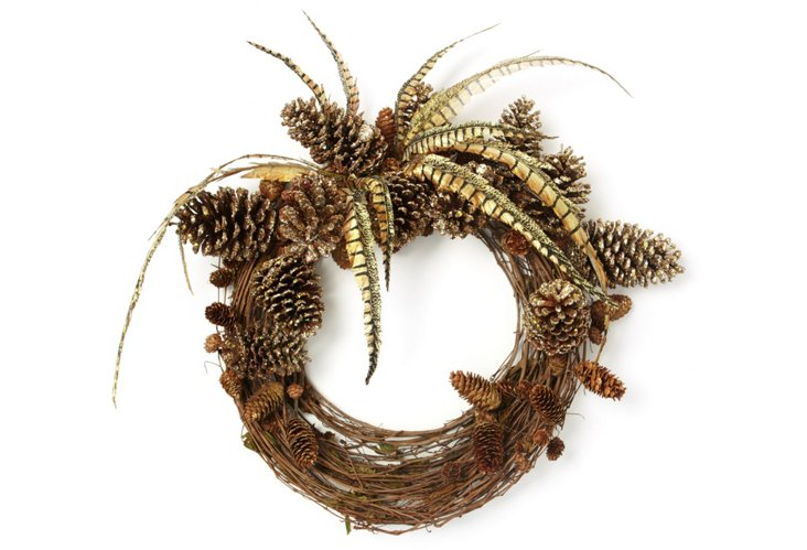 Woodland Glamour Wreath