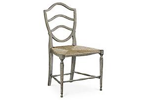 Bodiam Side Chair, Gray*