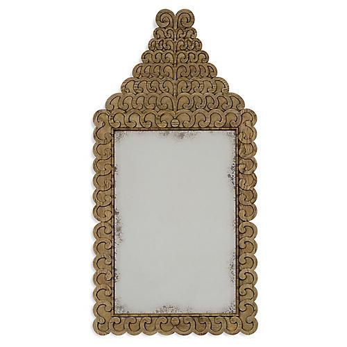 "Arlington 30""x55"" Wall Mirror, Washed Oak"