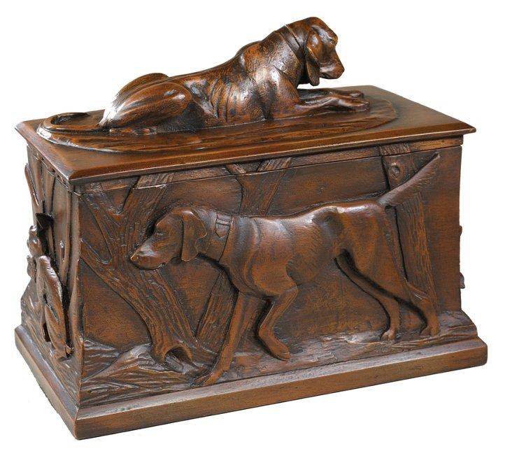 Sporting Dog Lidded Box