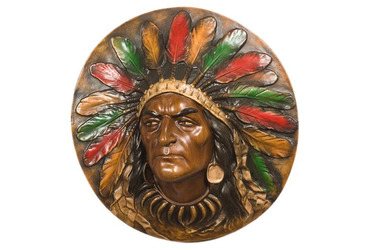 """18"""" Chief Wall Plaque"""