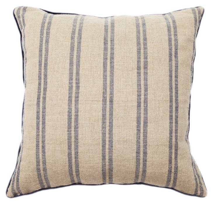 Full 22x22 Cotton Pillow, Natural