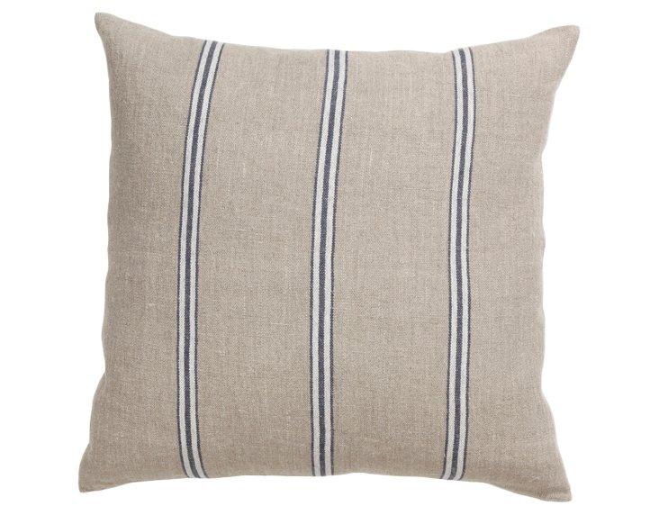 Beaumont 22x22 Pillow, Blue