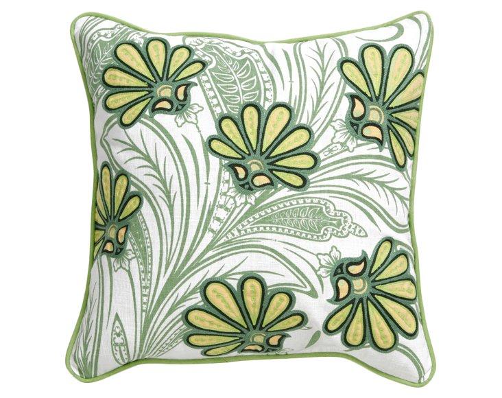 Terranium Pillow, Lime/Forest