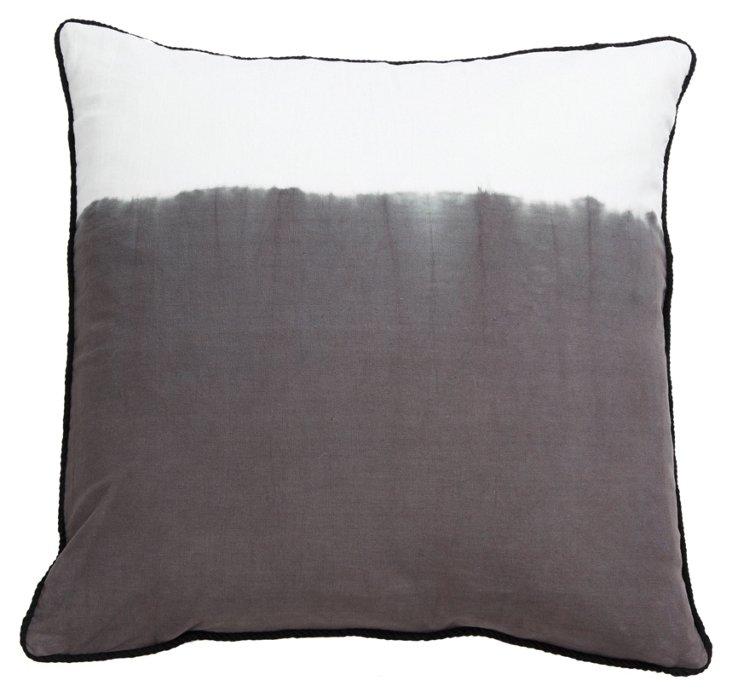 Ashbury 22x22 Pillow, Gray