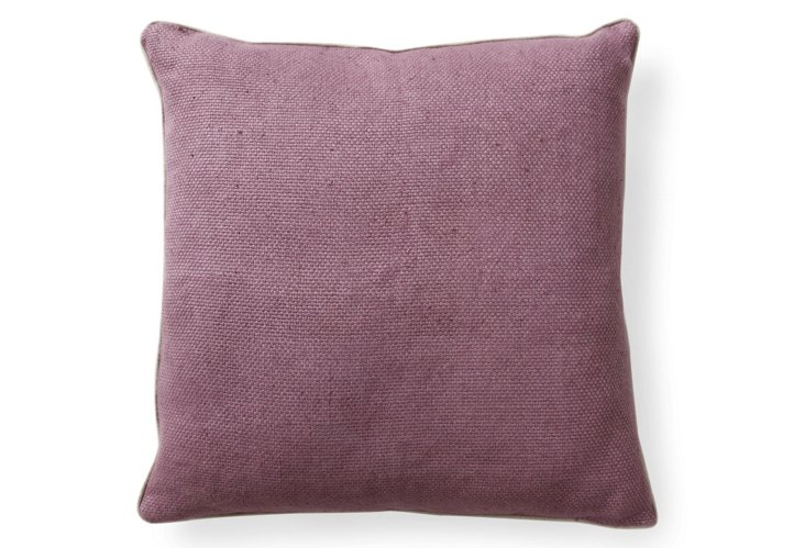 Willow 20x20 Pillow, Plum