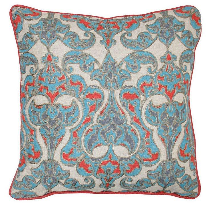 Dominique 18x18 Pillow, Multi