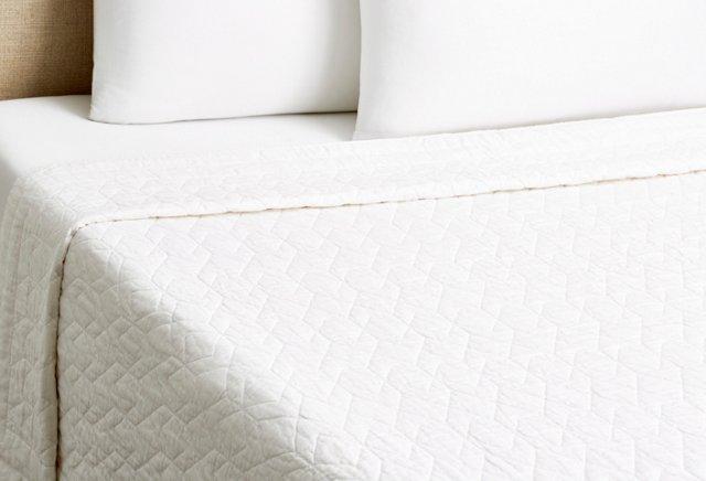 Kasuri Quilt, White