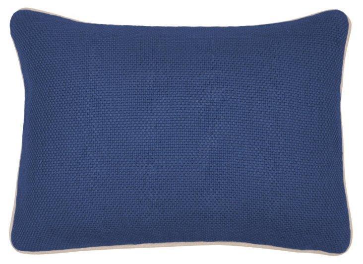 Perfecte 14x20 Linen Pillow, Navy