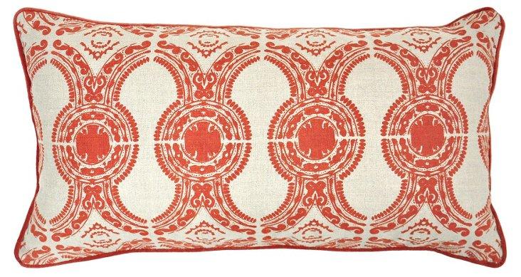 Moxa 14x26 Linen Pillow, Orange
