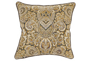 Louis 22x22 Cotton Pillow, Multi*