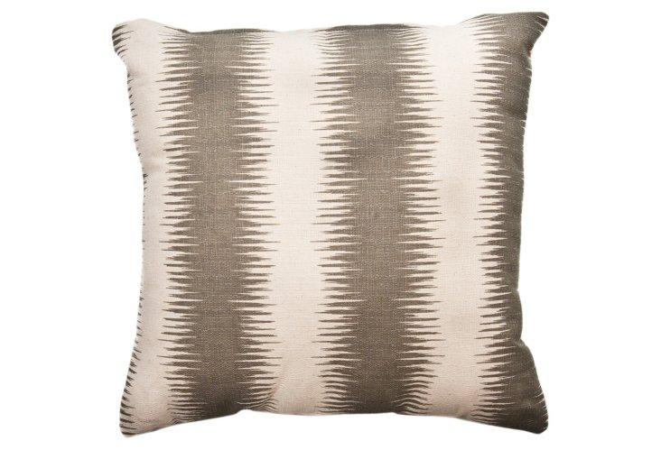 Stripe 20x20 Pillow, Gray