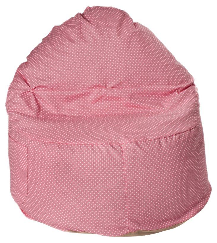 Dottie Club Chair, Baby Pink