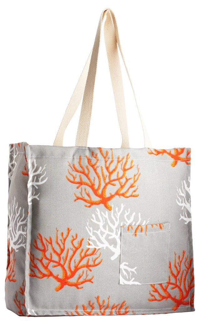 Isadella Tote Bag, Citrus