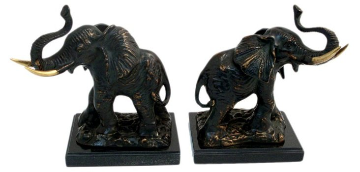 S/2 Elephant Bookends