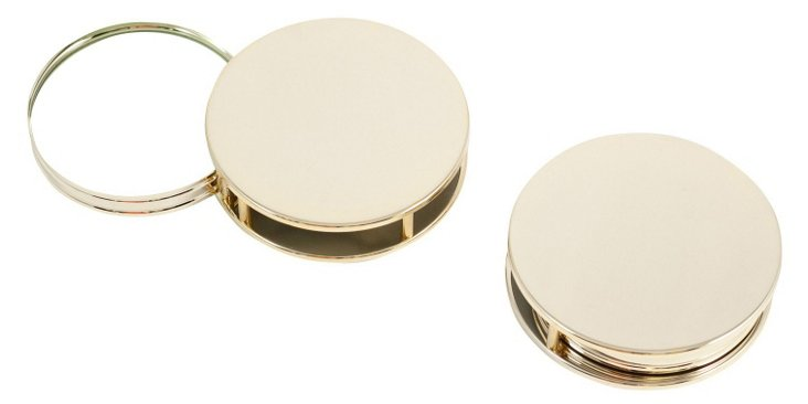 Paperweight & Magnifier, Gold