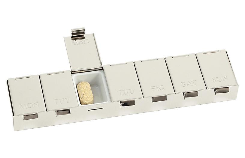 Pill Box, Silver