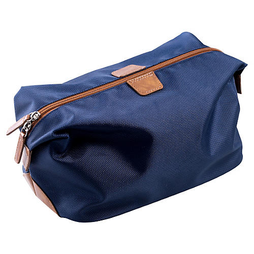 Ballistic Nylon Travel Dopp Kit, Blue
