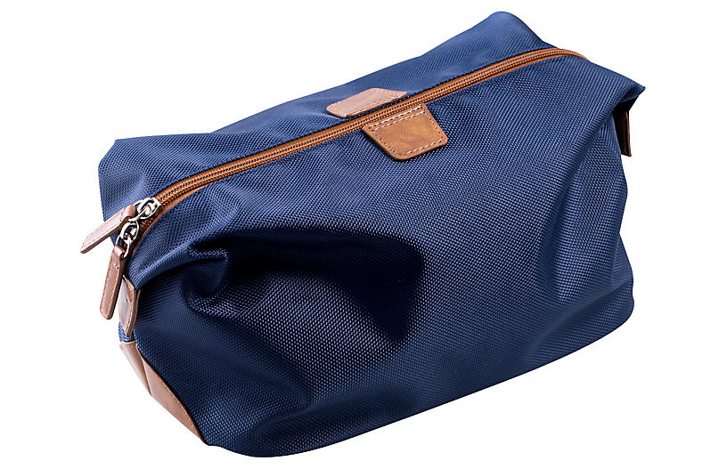 Ballistic Nylon Travel Dopp Kit - Blue