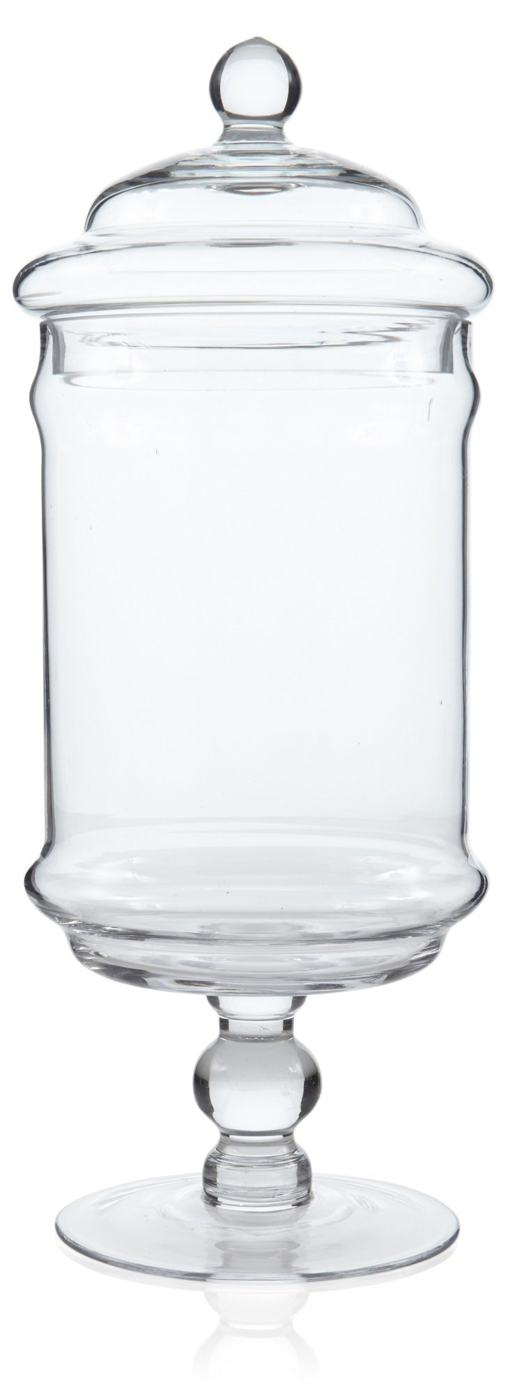 Large Glass Apothecary Jar