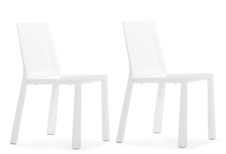 DNU, D-White Popsicle Chairs,