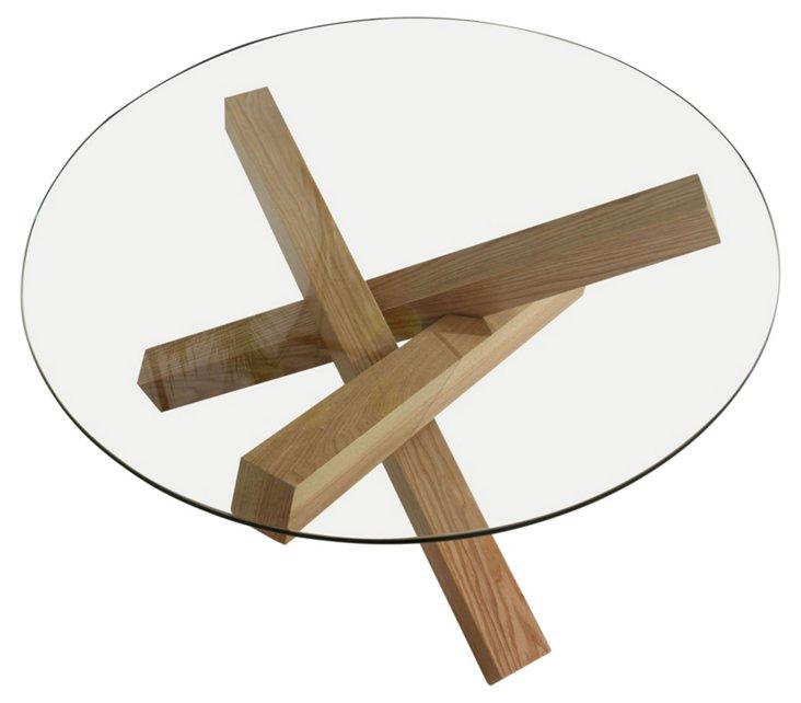Haxby Side Table, Walnut