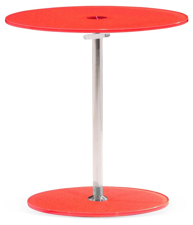 Radical Side Table, Red