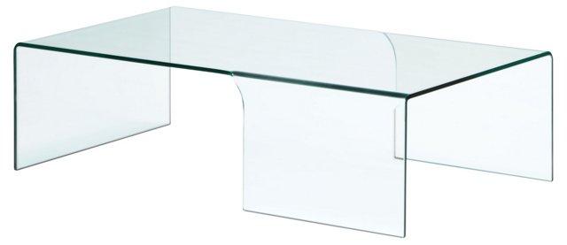 Hudson Glass Coffee Table