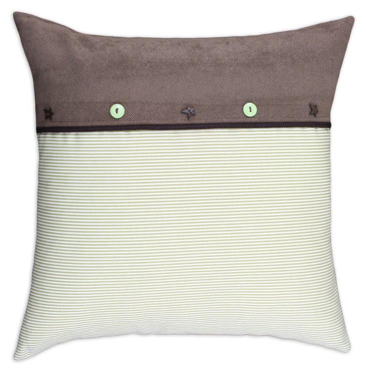 Oxford 19x19 Pillow, White