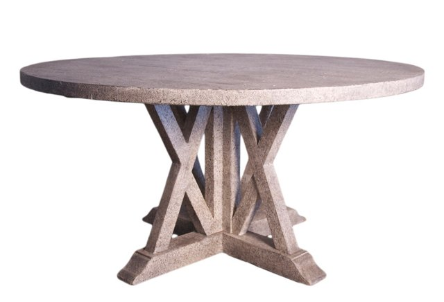 Albany Dining Table, Stone