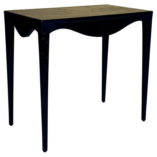 Elaine Side Table, Black