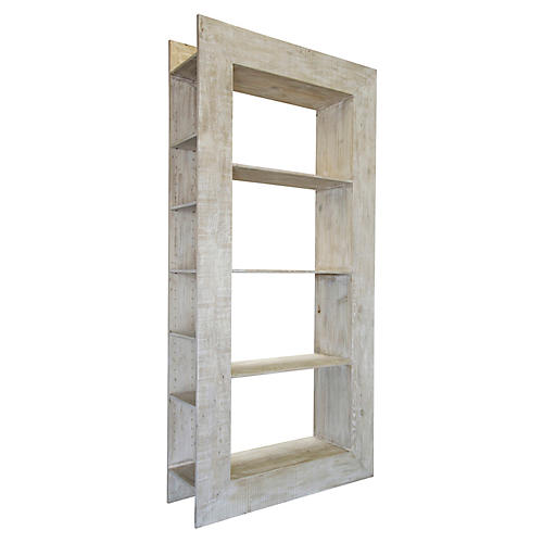"""Marco 104"""" Bookcase, Unfinished"""