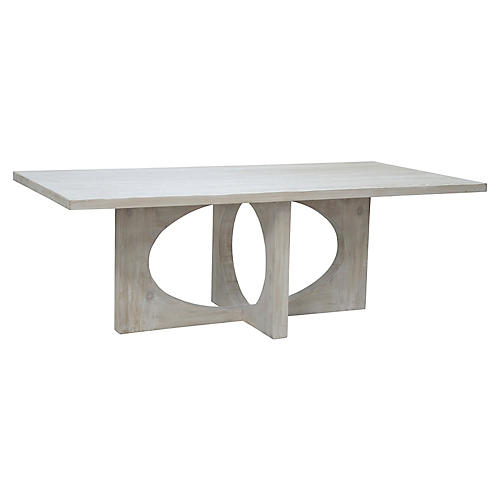 Buttercup Dining Table, Graywash