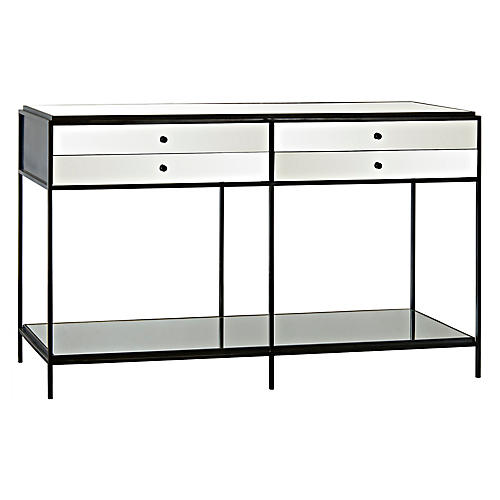 Mallory Console, Mirrored
