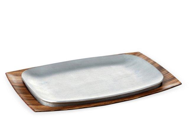 Serving Platter, Zebrawood