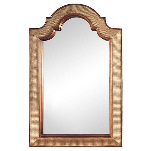"Vevey 29""x45"" Oversize Mirror, Gold"
