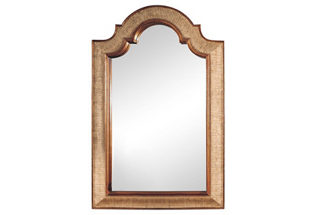 Arch-Shape Mirror, Gold