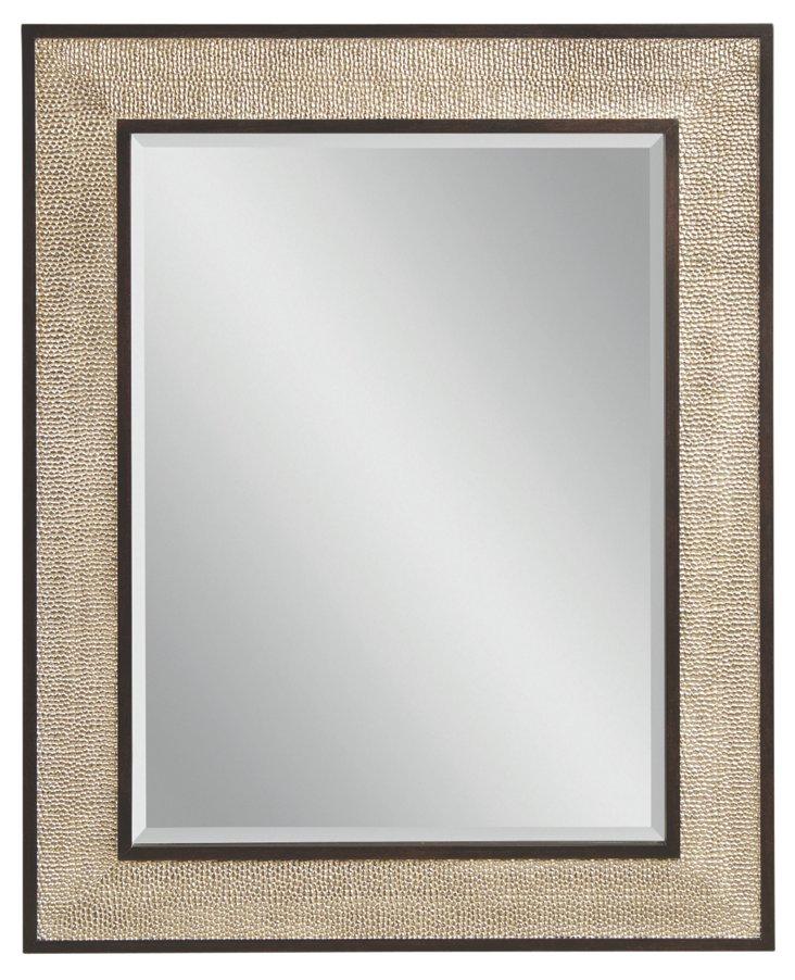 Medan Wall Mirror, Silver