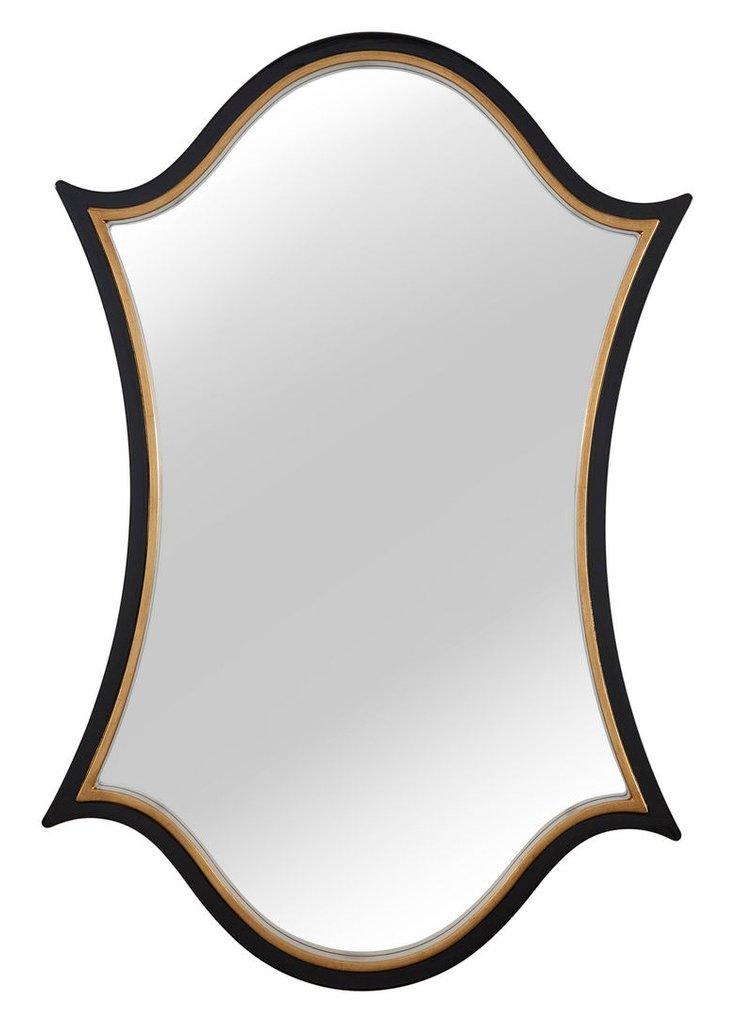 Nico Oversize Mirror, Gold