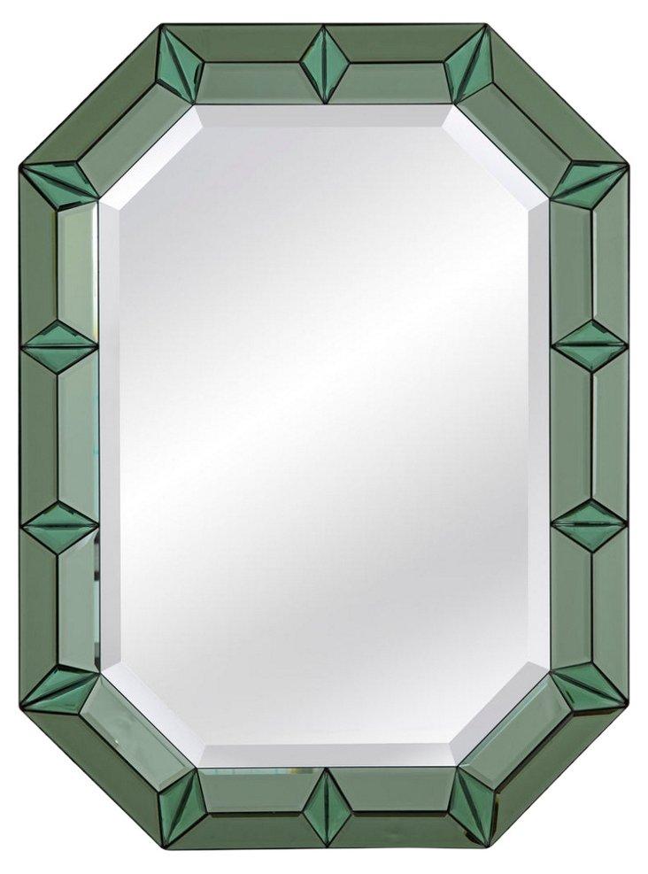Emerald Wall Mirror, Green