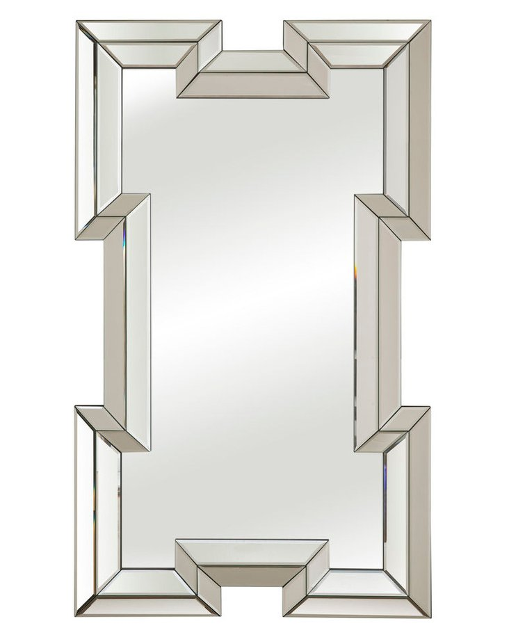 Bohan Floor Mirror, Clear