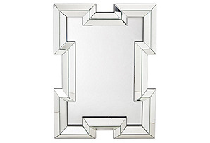 Bohan Oversize Mirror, Clear