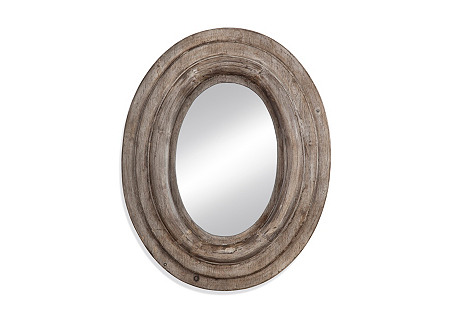 Rustic Mirror, Brown