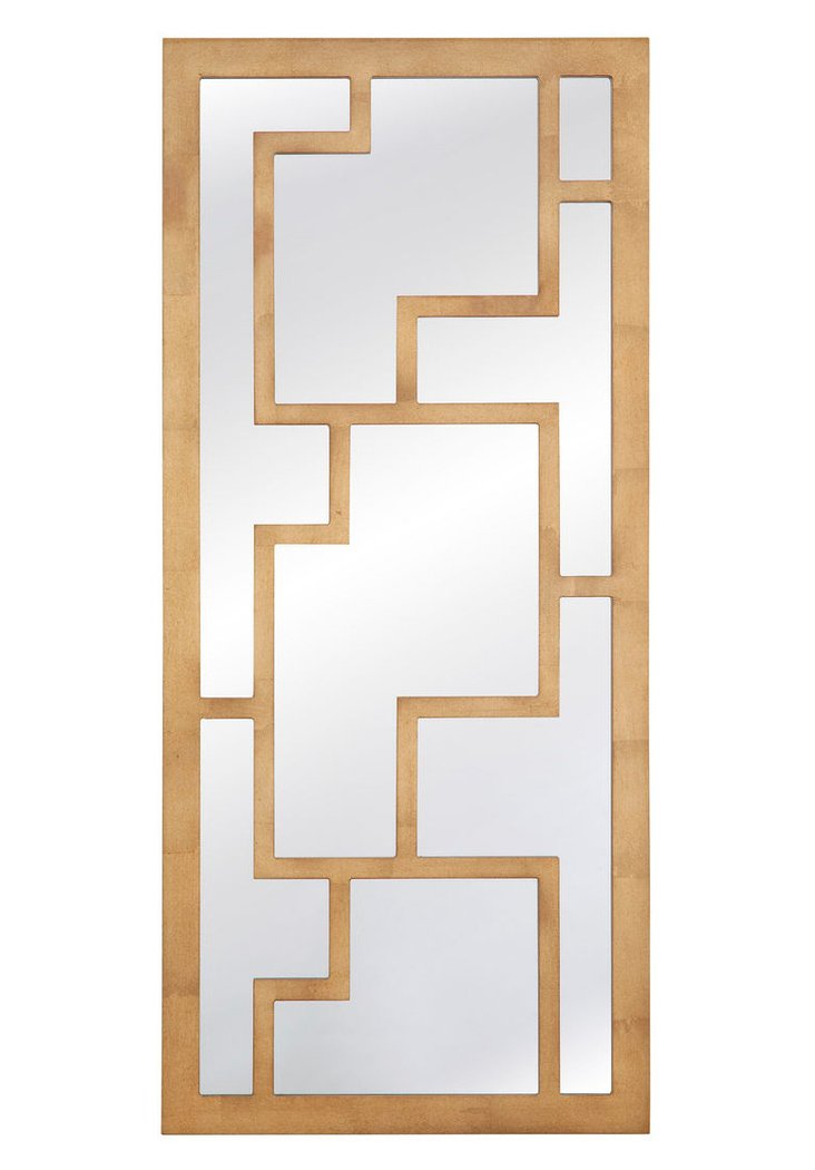 Owen Wall Mirror, Gold