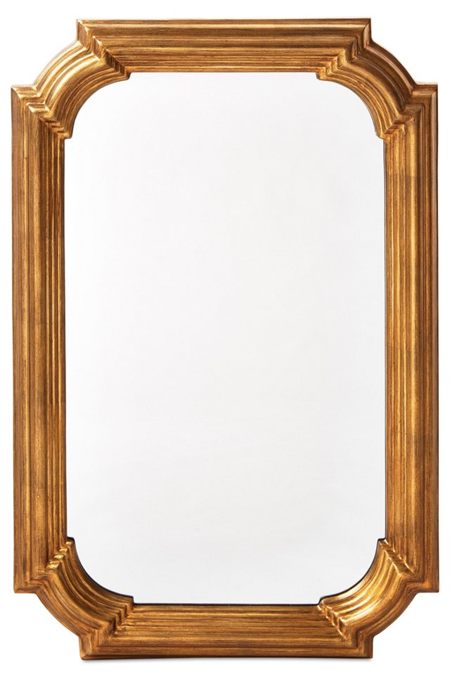 Irving Wall Mirror, Gold