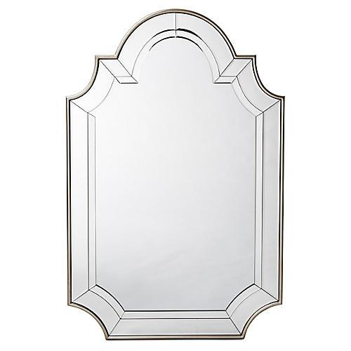 Yi Oversize Mirror, Champagne