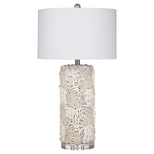 Erin Table Lamp, Cream