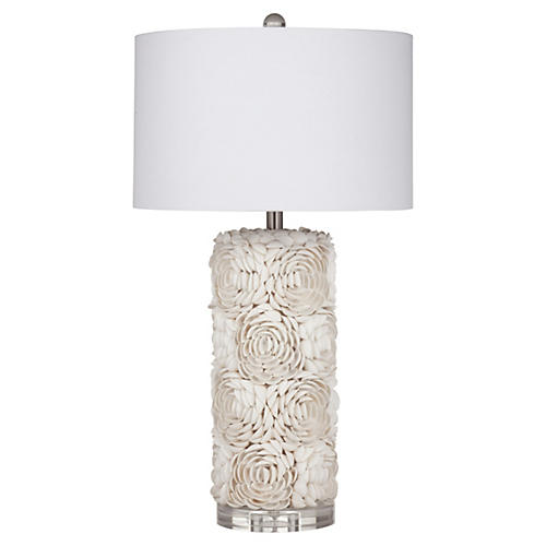 Erin Table Lamp, Cream