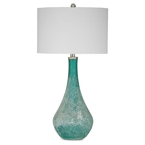 Ellie Table Lamp, Blue