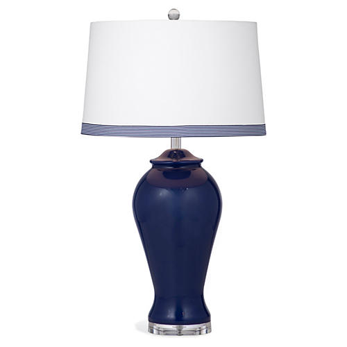 Harriet Table Lamp, Navy